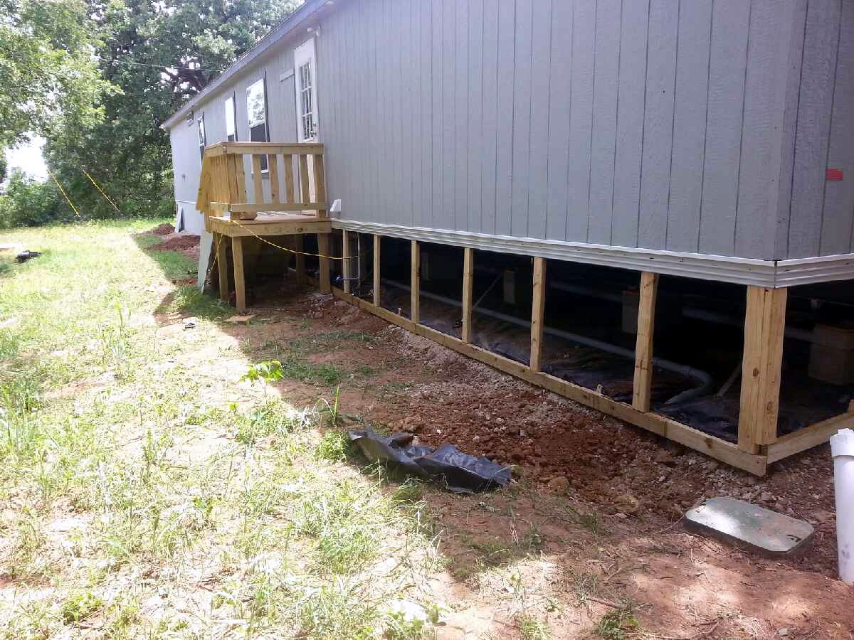 Mobile Home Repair Pictures In Dallas Ft Worth And North